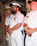 Conch Republic Independence Celebration at the Schooner Wharf surrender ceremony and Great Sea battle