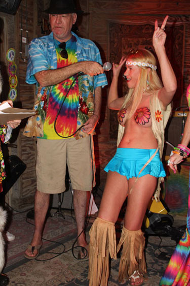 Schooner Wharf Fantasy Celebration Hippie Costume Contest