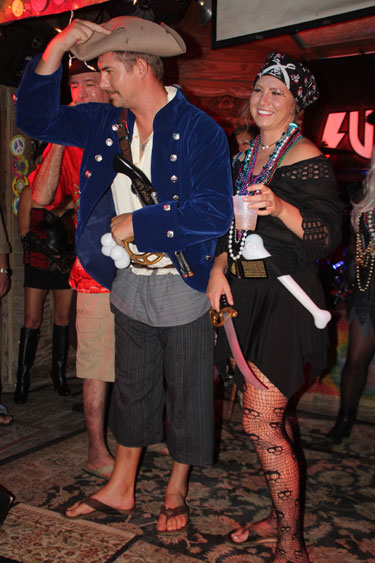 Schooner Wharf Fantasy Celebration Annual Walk-On Costume Competition Wharstock in Key West