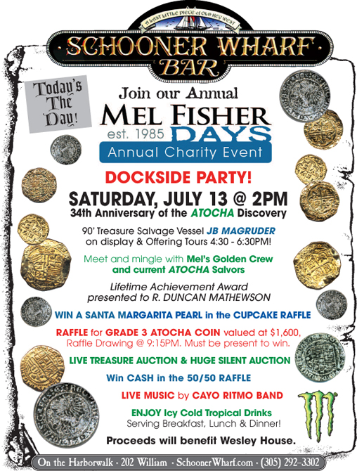 Schooner Wharf Mel Fisher Days 2019 Flyer