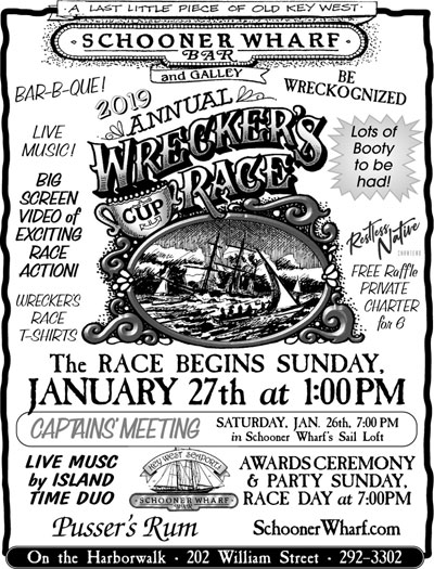 2019 Wreckers Race January Race Flyer