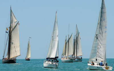 Schooner Wharf Wreckers Cup Race Series Results March Race Photos