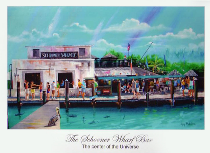 "Schooner Wharf Bar - Key West, Florida. ""A Last Little Piece of"