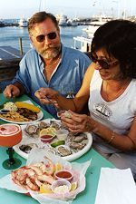 The food here is really good at Key West's Schooner Wharf